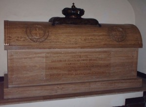 Stuart tomb in the Vatican